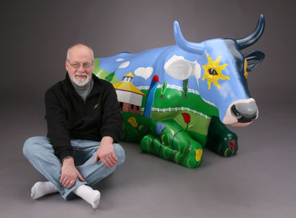 Greg and Painted Cow